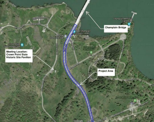 Champlain Bridge Roadway Improvements