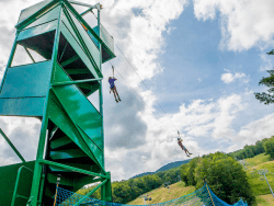 Gore Mountain zip line
