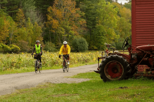 Riders at Rivermede Farm in Keene Valley