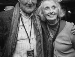Russell Banks and Kathleen Carroll