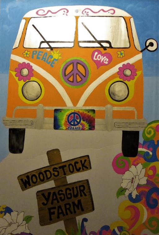Woodstock Mural by Marsha LaPointe