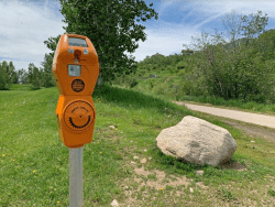 hiking meter courtesy City of Steamboat Springs