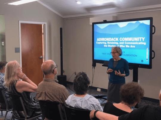 Adirondack Community presentation