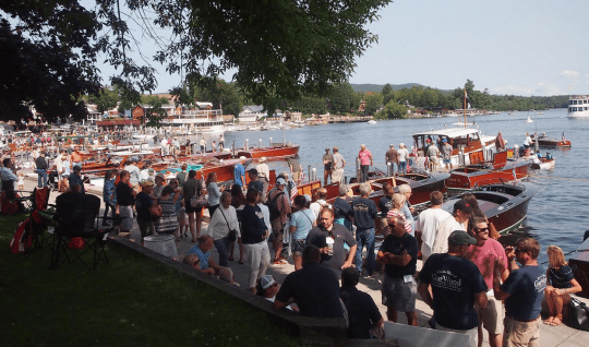 Annual Antique and Classic Boat Society Adiron- dack Chapter Lake George Rendezvous