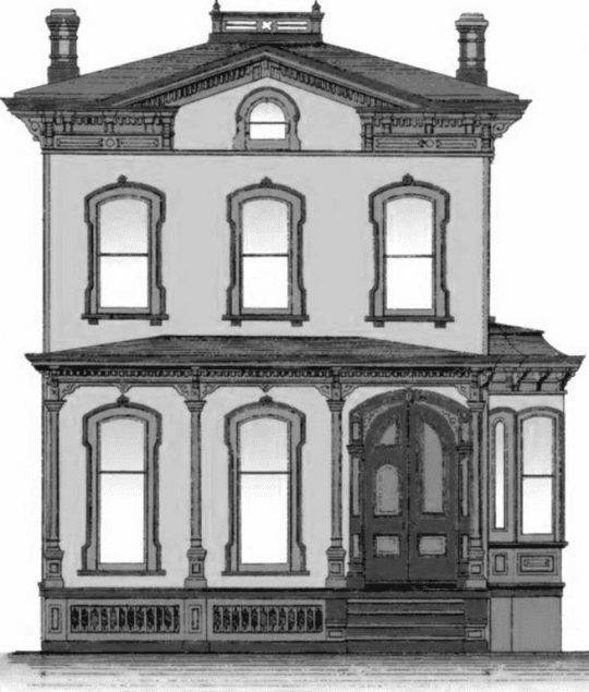 Victorian House courtesy Hadley-Lake Luzerne Historical Society