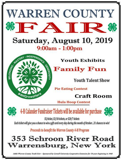 Warren County Youth Fair 2019