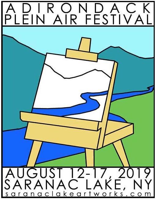 plein air festival poster