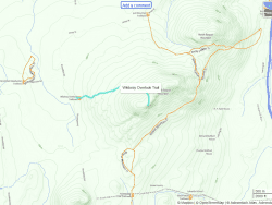 wildway overlook trail map