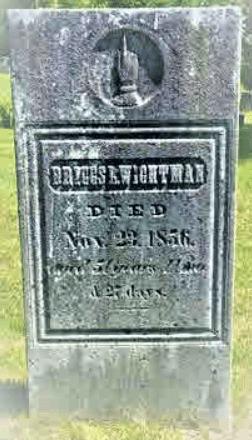 Briggs Wightman Gravestone