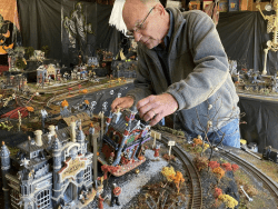 Dave Crosby and his Spooky Town Train