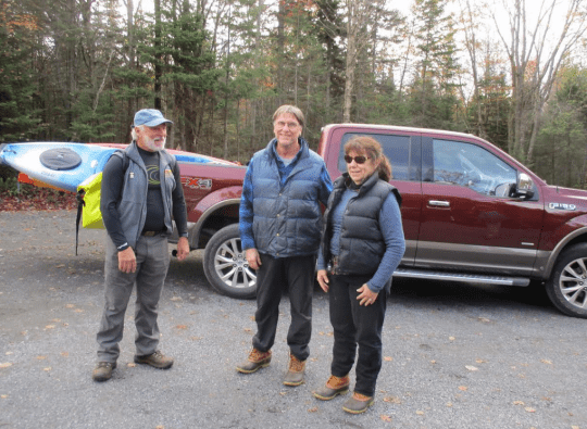 Dave Tim and Beth at Boreas Ponds