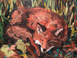 Fox by Mary Woodcock Johnson