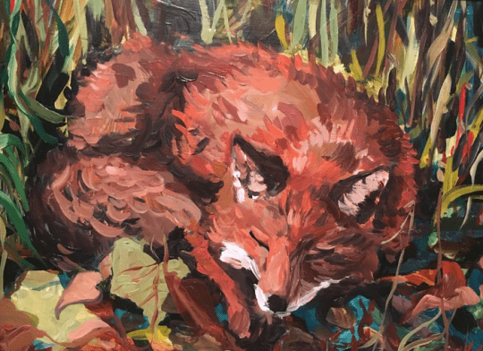 Fox by Mary Woodcock Johnson