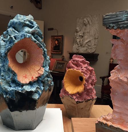 Rebecca Murtaughs ceramic works