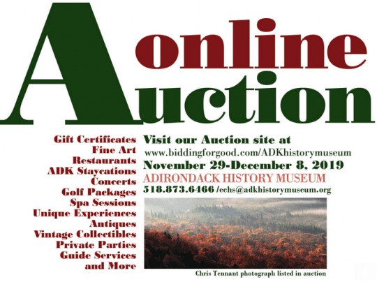 adirondack history museum online auction