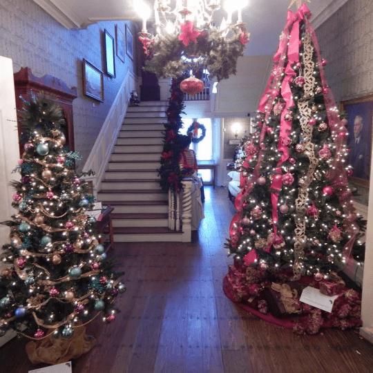 festival of trees courtesy Ticonderoga Historical Society