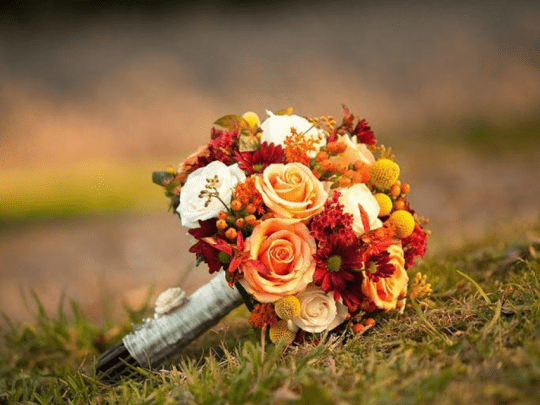 wedding show bouquet provided by Events To a T