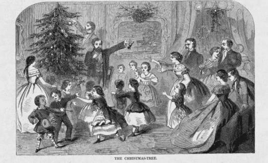 Winslow Homer The Christmas Tree