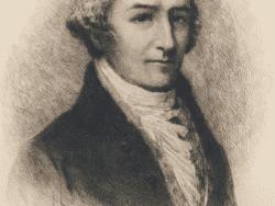 engraving of William Bradford