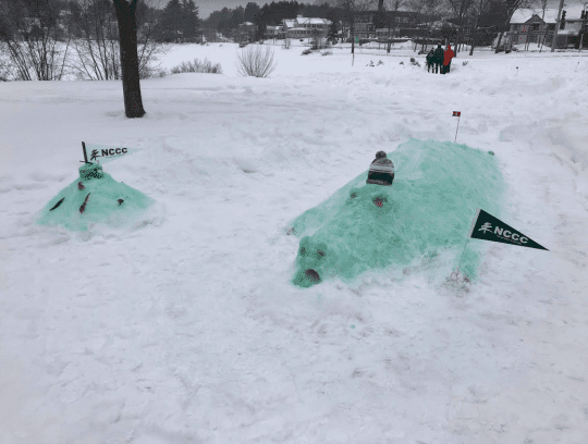 2019 First Place Winning Obstacle by North Country Community College