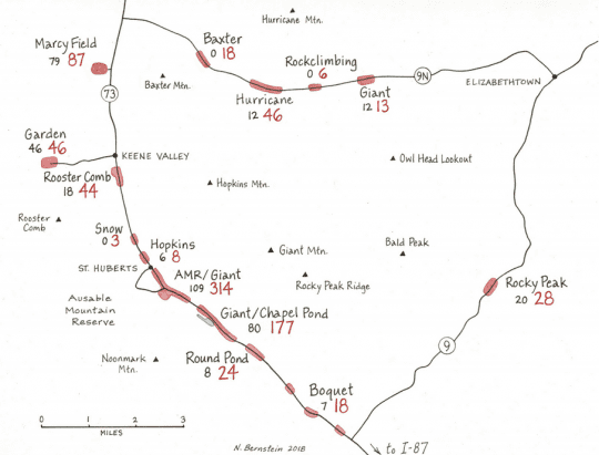 Trails in need map