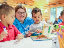 summer literacy program in Brant Lake by Erika Bailey Adirondack Foundation