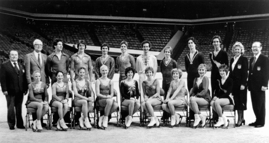 1980 U.S. Olympic Figure Skating Team Photo, courtesy of the United States Olympic & Paralympic Committee