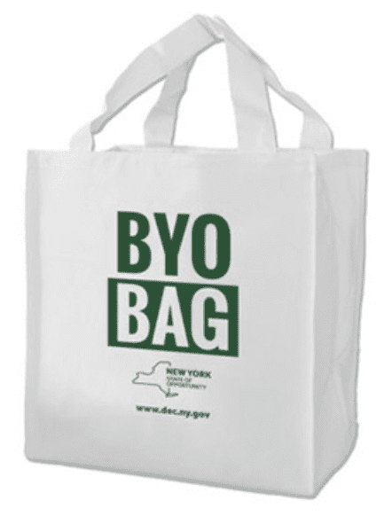 BYO Bag courtesy DEC