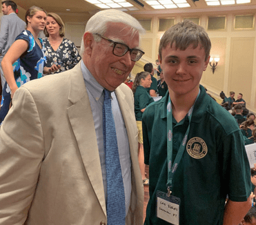 Beaty Family Scholarship winner Cole Siebels
