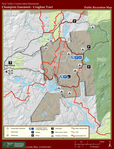 Croghan Tract Map 2020