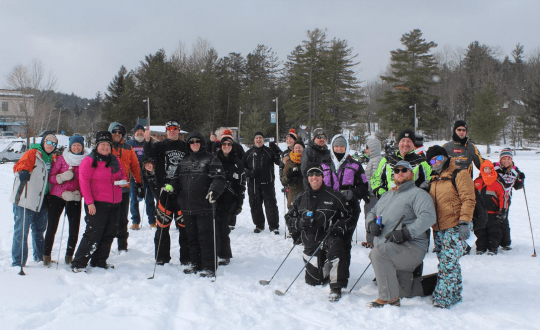 Ice Golf at 2019 Raquette Lake Winter Carnival