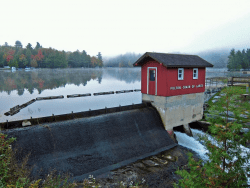 dam at Old Forge
