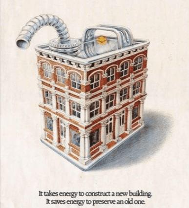 historic preservation illustration