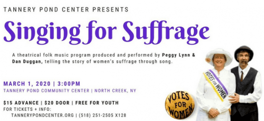 singing for suffrage