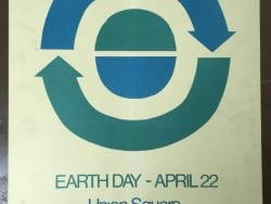 vintage earth day poster