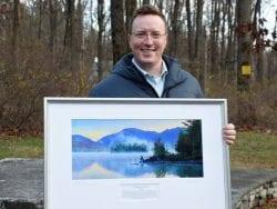 Kevin Clad receives award