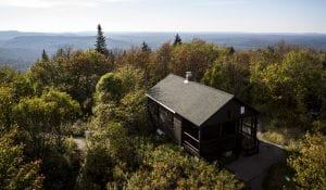 Mount Arab ranger cabin