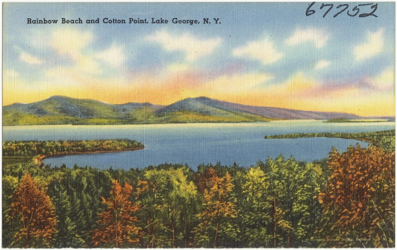 Cotton Point postcard