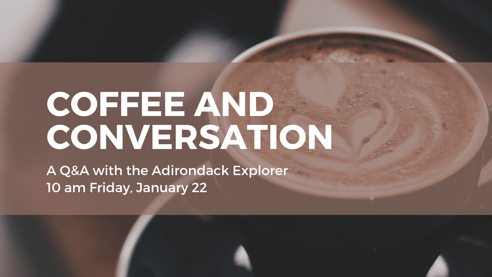 coffee and conversation event