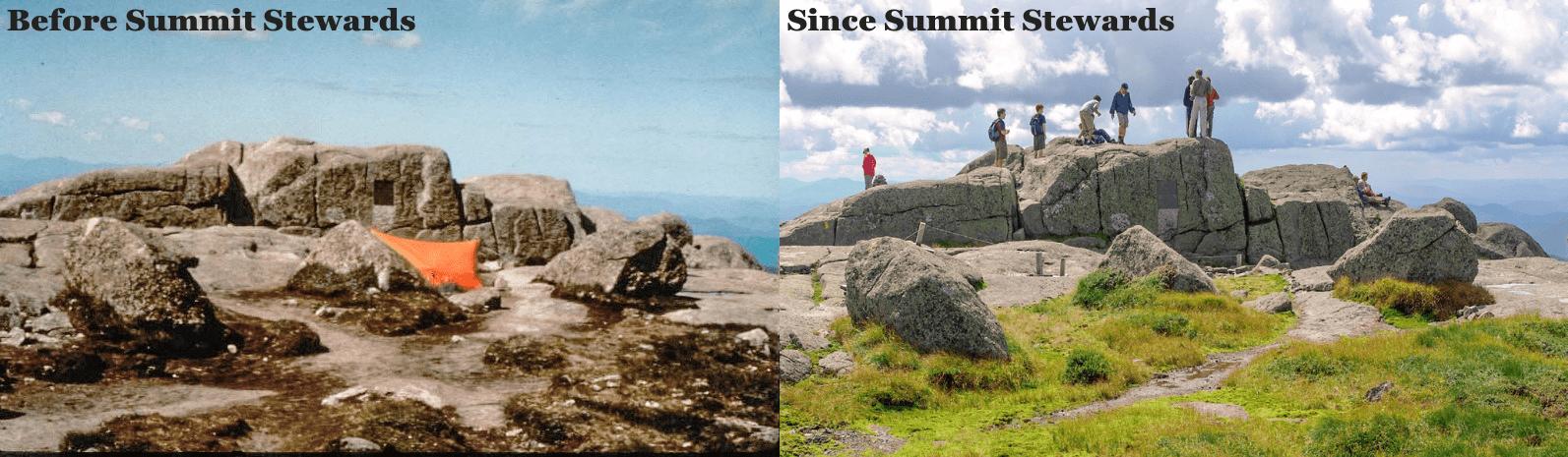 Mt. Marcy since Summit Stewards