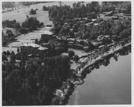 Lake Placid Club in 1956