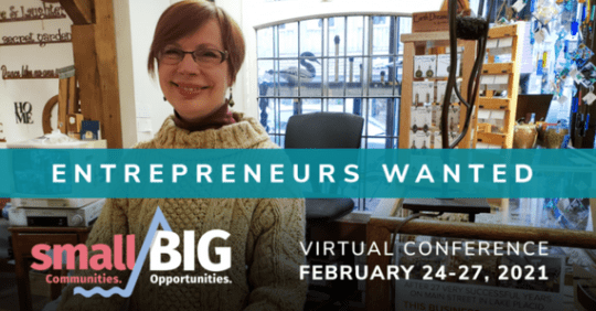 Small Communities. Big Opportunities: Own a North Country Busine Virtual Conference
