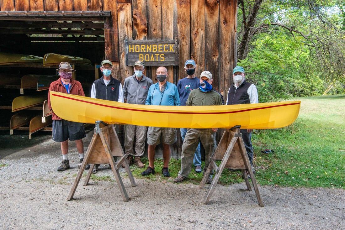 finished canoe