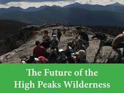 Discussion topic: High Peaks use
