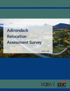 Adirondack Relocation Assessment Survey