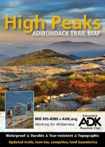 ADK trail map