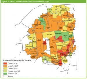 School enrollment map