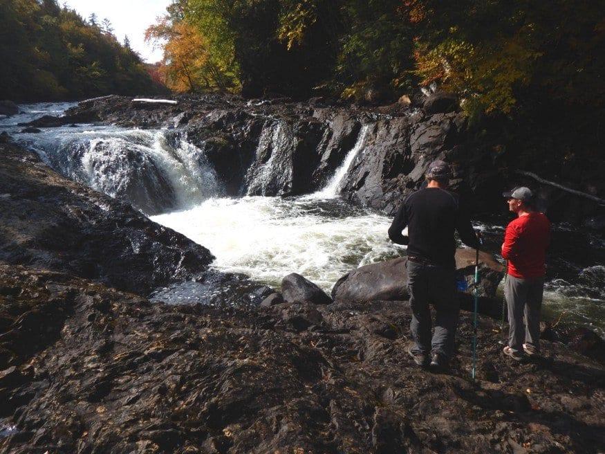 raquette falls in the fall