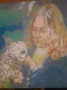 pastel by Wendy Hall of Deb MacKenzie