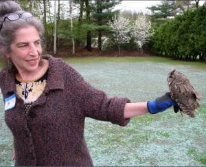 Wendy and Screech Owl